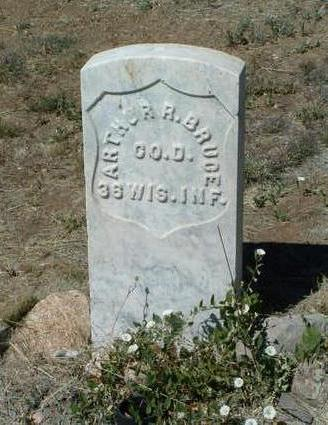 BRUCE, ARTHUR R. - Yavapai County, Arizona | ARTHUR R. BRUCE - Arizona Gravestone Photos