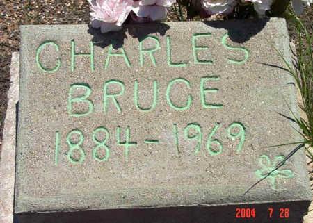 BRUCE, CHARLES EDWARD - Yavapai County, Arizona | CHARLES EDWARD BRUCE - Arizona Gravestone Photos