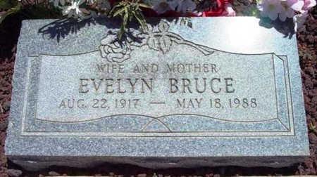 BRUCE, EVELYN - Yavapai County, Arizona | EVELYN BRUCE - Arizona Gravestone Photos