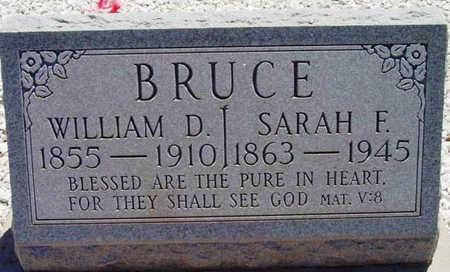 BRUCE, WILLIAM DRUMMOND - Yavapai County, Arizona | WILLIAM DRUMMOND BRUCE - Arizona Gravestone Photos