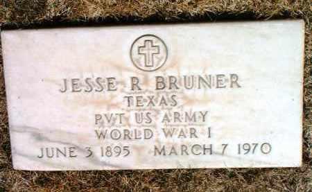 BRUNER, JESSE RUBEN - Yavapai County, Arizona | JESSE RUBEN BRUNER - Arizona Gravestone Photos