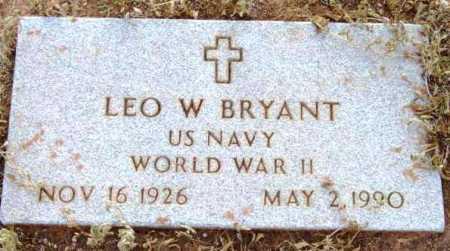 BRYANT, LEO W. - Yavapai County, Arizona | LEO W. BRYANT - Arizona Gravestone Photos