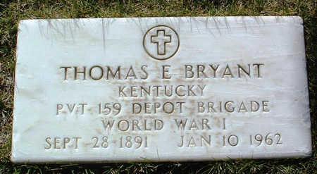 BRYANT, THOMAS E. - Yavapai County, Arizona | THOMAS E. BRYANT - Arizona Gravestone Photos