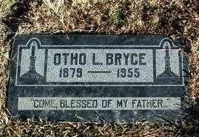 BRYCE, OTHO L. - Yavapai County, Arizona | OTHO L. BRYCE - Arizona Gravestone Photos