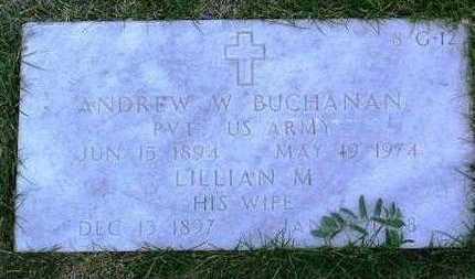 ALFORD BUCHANAN, L. - Yavapai County, Arizona | L. ALFORD BUCHANAN - Arizona Gravestone Photos