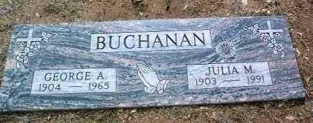 MANN BUCHANAN, JULIA D. - Yavapai County, Arizona   JULIA D. MANN BUCHANAN - Arizona Gravestone Photos