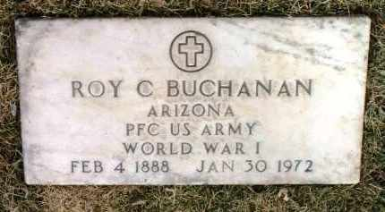 BUCHANAN, ROY CHRISTIAN - Yavapai County, Arizona   ROY CHRISTIAN BUCHANAN - Arizona Gravestone Photos