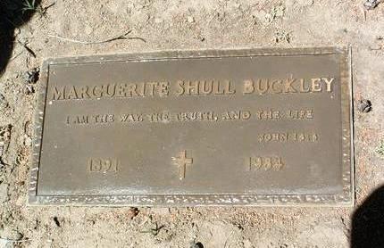 BUCKLEY, MARGUERITE E. - Yavapai County, Arizona   MARGUERITE E. BUCKLEY - Arizona Gravestone Photos