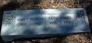 BUCKLEY, MARY CLARA - Yavapai County, Arizona | MARY CLARA BUCKLEY - Arizona Gravestone Photos