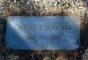 BUCKMAN, THOMAS PRESTON - Yavapai County, Arizona | THOMAS PRESTON BUCKMAN - Arizona Gravestone Photos