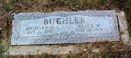BUEHLER, RICHARD OSCAR M. - Yavapai County, Arizona | RICHARD OSCAR M. BUEHLER - Arizona Gravestone Photos