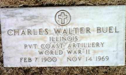 BUEL, CHARLES WALTER - Yavapai County, Arizona | CHARLES WALTER BUEL - Arizona Gravestone Photos