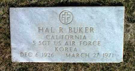 BUKER, HAL RICHARD - Yavapai County, Arizona | HAL RICHARD BUKER - Arizona Gravestone Photos