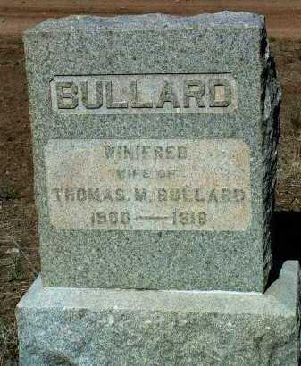 KNAPP BULLARD, WINIFRED PEARL - Yavapai County, Arizona | WINIFRED PEARL KNAPP BULLARD - Arizona Gravestone Photos