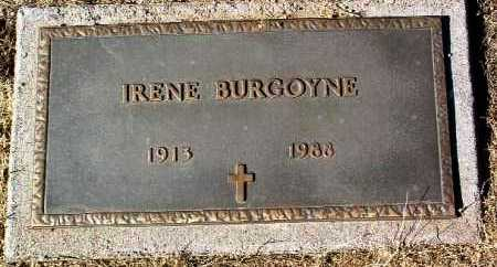 BURGOYNE, IRENE - Yavapai County, Arizona | IRENE BURGOYNE - Arizona Gravestone Photos