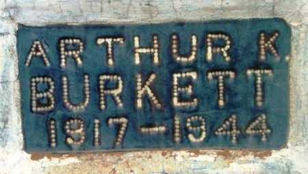 BURKETT, ARTHUR KELO - Yavapai County, Arizona | ARTHUR KELO BURKETT - Arizona Gravestone Photos
