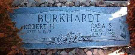 BURKHARDT, CARA S. - Yavapai County, Arizona | CARA S. BURKHARDT - Arizona Gravestone Photos