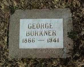 BURKNER, GEORGE - Yavapai County, Arizona | GEORGE BURKNER - Arizona Gravestone Photos