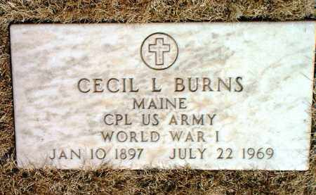BURNS, CECIL LAURINGTON - Yavapai County, Arizona | CECIL LAURINGTON BURNS - Arizona Gravestone Photos
