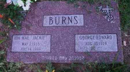 BURNS, IDA MAE (JACKIE) - Yavapai County, Arizona | IDA MAE (JACKIE) BURNS - Arizona Gravestone Photos