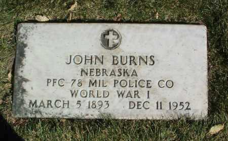 BURNS, JOHN - Yavapai County, Arizona | JOHN BURNS - Arizona Gravestone Photos