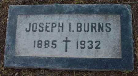 BURNS, JOSEPH I. - Yavapai County, Arizona | JOSEPH I. BURNS - Arizona Gravestone Photos