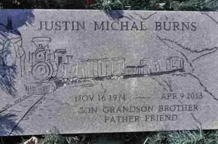 BURNS, JUSTIN MICHAL - Yavapai County, Arizona | JUSTIN MICHAL BURNS - Arizona Gravestone Photos