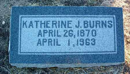 BURNS, KATHERINE J. - Yavapai County, Arizona | KATHERINE J. BURNS - Arizona Gravestone Photos