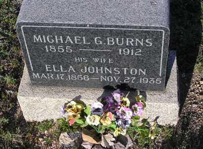 JOHNSTON BURNS, ELLA J. - Yavapai County, Arizona | ELLA J. JOHNSTON BURNS - Arizona Gravestone Photos