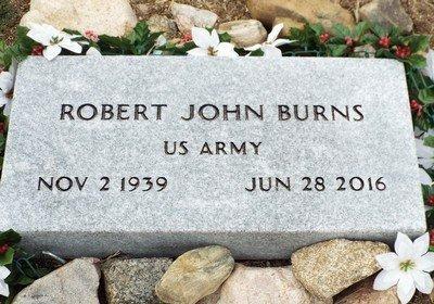 BURNS, ROBERT JOHN - Yavapai County, Arizona   ROBERT JOHN BURNS - Arizona Gravestone Photos