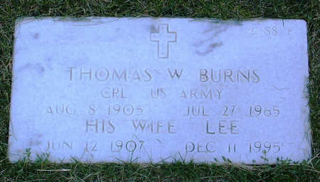BURNS, THOMAS  W. - Yavapai County, Arizona | THOMAS  W. BURNS - Arizona Gravestone Photos