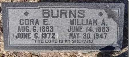 BURNS, CORA ELLEN - Yavapai County, Arizona | CORA ELLEN BURNS - Arizona Gravestone Photos