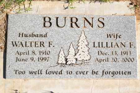 BURNS, LILLIAN F. - Yavapai County, Arizona | LILLIAN F. BURNS - Arizona Gravestone Photos