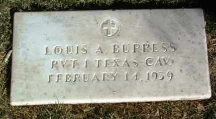 BURRESS, LOUIS A. - Yavapai County, Arizona | LOUIS A. BURRESS - Arizona Gravestone Photos