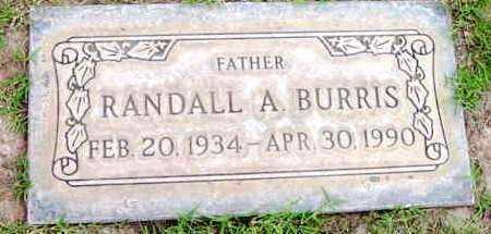 BURRIS, RANDALL A. - Yavapai County, Arizona | RANDALL A. BURRIS - Arizona Gravestone Photos