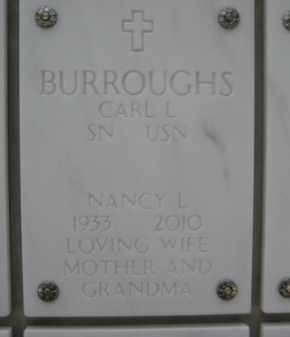 BURROUGHS, NANCY L - Yavapai County, Arizona   NANCY L BURROUGHS - Arizona Gravestone Photos