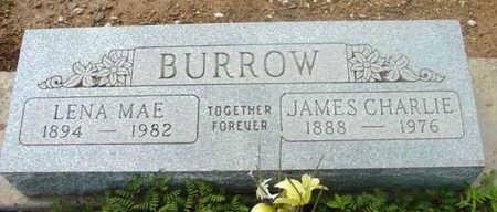BURROW, JAMES CHARLIE - Yavapai County, Arizona   JAMES CHARLIE BURROW - Arizona Gravestone Photos