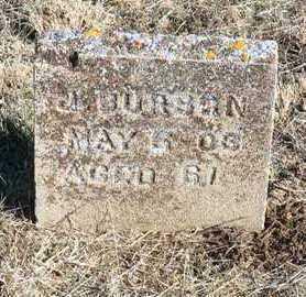 BURSON, J. - Yavapai County, Arizona | J. BURSON - Arizona Gravestone Photos