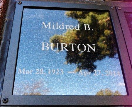 BURTON, MILDRED BARBARA - Yavapai County, Arizona | MILDRED BARBARA BURTON - Arizona Gravestone Photos