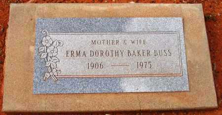 BAKER BUSS, ERMA DOROTHY - Yavapai County, Arizona | ERMA DOROTHY BAKER BUSS - Arizona Gravestone Photos