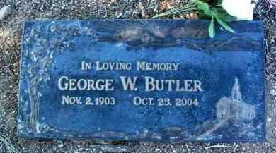 BUTLER, GEORGE W. - Yavapai County, Arizona | GEORGE W. BUTLER - Arizona Gravestone Photos
