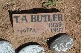 BUTLER, THOMAS A. - Yavapai County, Arizona | THOMAS A. BUTLER - Arizona Gravestone Photos