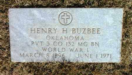 BUZBEE, HENRY H. - Yavapai County, Arizona | HENRY H. BUZBEE - Arizona Gravestone Photos