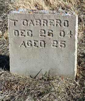 GABRERO, T. - Yavapai County, Arizona | T. GABRERO - Arizona Gravestone Photos