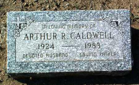 CALDWELL, ARTHUR RUSELL - Yavapai County, Arizona | ARTHUR RUSELL CALDWELL - Arizona Gravestone Photos
