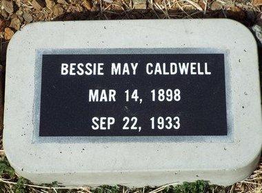 CALDWELL, BESSIE MAY - Yavapai County, Arizona | BESSIE MAY CALDWELL - Arizona Gravestone Photos