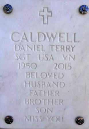 CALDWELL, DANIEL TERRY - Yavapai County, Arizona   DANIEL TERRY CALDWELL - Arizona Gravestone Photos