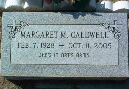 CALDWELL, MARGARET MAXINE - Yavapai County, Arizona | MARGARET MAXINE CALDWELL - Arizona Gravestone Photos