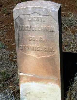 CALHOUN, HUGH - Yavapai County, Arizona   HUGH CALHOUN - Arizona Gravestone Photos