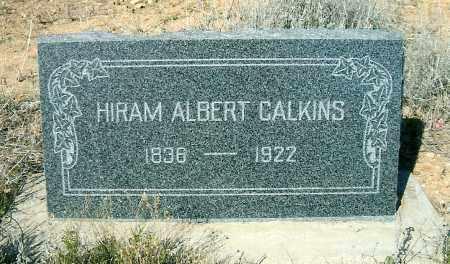 CALKINS, HIRAM ALBERT, SR. - Yavapai County, Arizona   HIRAM ALBERT, SR. CALKINS - Arizona Gravestone Photos
